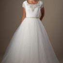 130x130 sq 1429324819993 modest wedding dress rainier front