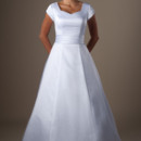 130x130 sq 1429324885477 modest wedding dress tatum front