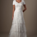130x130 sq 1429324905905 modest wedding dress tb7623 front