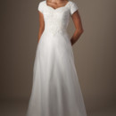 130x130 sq 1429324943296 modest wedding dress tb7633 front