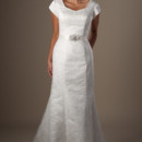 130x130 sq 1429324976211 modest wedding dress wilkinson front