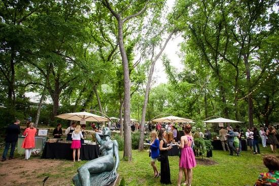 Umlauf Sculpture Garden Museum Austin Tx Wedding Venue
