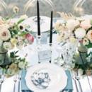 130x130 sq 1484340465017 blue silver and black glam wedding ideas 600x452