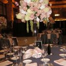 130x130 sq 1358279309938 pinkandgreyweddingtable