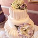 130x130 sq 1405530332661 pleated fondant wedding cake
