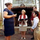 130x130 sq 1401330926904 rev lodge watches amy saying her vows to michell