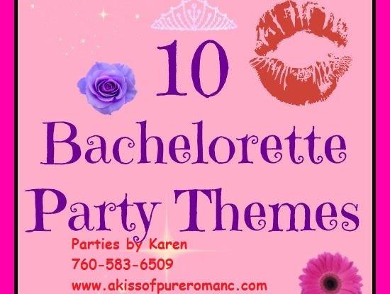 Bachelorette Parties With Karen Ellis A Pure Romance