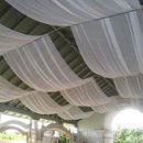 130x130 sq 1236921636533 nes wedding ceiling draping 04