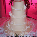130x130 sq 1388426441497 classic 4 tier beach wedding cake cop
