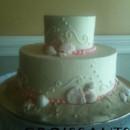 130x130 sq 1388426470878 sea foam beach wedding cake 2 tier cop