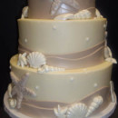 130x130 sq 1388426476031 star fish  shells beach wedding cake cop