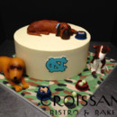 130x130 sq 1389199134318 grooms cake   nc with dog
