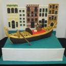 130x130 sq 1416249767434 gondola   italy scene specialty cake