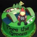130x130 sq 1416250071932 usc golf cake with logo