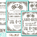 130x130 sq 1366985327635 wedding invitations sioux falls tandem bike