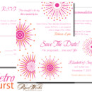 130x130 sq 1366985382410 wedding invitations sioux falls retro burst