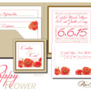 130x130 sq 1366985416280 wedding invitations sioux falls poppy flower