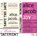 130x130 sq 1366985491043 wedding invitations sioux falls modern statement