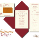 130x130 sq 1366985735698 wedding invitations sioux falls autumn delight