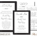 130x130 sq 1366986608106 wedding invitations sioux falls timeless