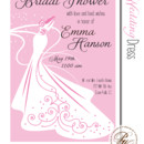 130x130 sq 1366986968111 bridal shower invitation sioux falls wedding dress pink