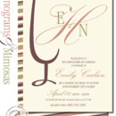 130x130 sq 1366987050453 bridal shower invitation sioux falls monogram mimosas