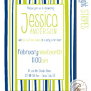 130x130 sq 1366987112706 bridal shower invitation sioux falls bright stripes