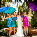 130x130 sq 1387298316159 colorful umbrella bridesmaid