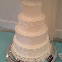 220x220 sq 1281631758619 weddingcake1b