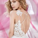 130x130 sq 1472885954532 blush hayley paige bridal lace tulle ball gown sca