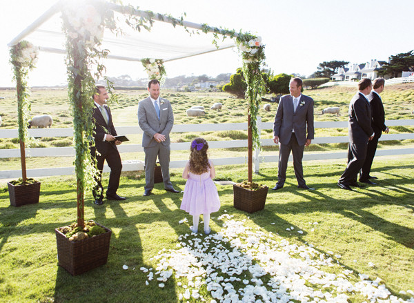 Carmel By The Sea Wedding Of Mission Ranch Carmel By The Sea Ca Wedding Venue
