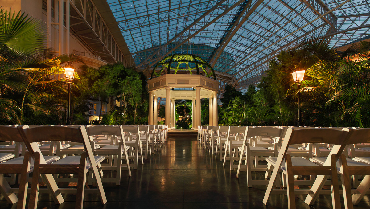 Gaylord opryland resort venue nashville tn weddingwire for East coast wedding destinations