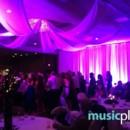 130x130 sq 1455905030558 purple uplighting and drape