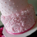 130x130 sq 1459898342115 pink expo cake 007