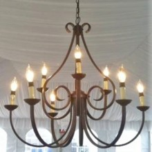 220x220 sq 1473281686370 bronze chandelier