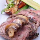 130x130 sq 1371591120407 seared rib with mushrooms 2