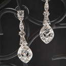 Regal drop earring with chandelier drop