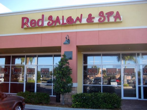 Red Salon Spa Fort Myers