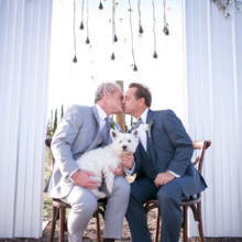 220x220 sq 1495144372086 the same sex wedding styled shoot by photoquest st