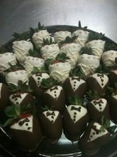 220x220 1434635315445 bride and groom strawberries
