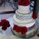 130x130 sq 1367329263430 red rose cake