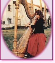 Nelda Etheredge,  Harpist photo