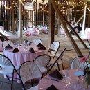 130x130 sq 1295638904525 weddingwithpinktableclothsinbarn
