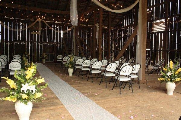 1360418640181 weddingceremonyinbarn gettysburg wedding venue for Gettysburg wedding venues