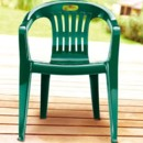 130x130 sq 1385409448830 greenplasticpatiochair