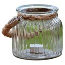 130x130 sq 1428001289071 ribbed jar with rope handle