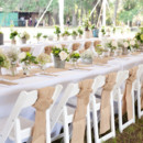 130x130 sq 1458654489801 luxurious burlap table runner caloosa tent wedding