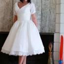 130x130 sq 1471317178472 dollycouture bridal vintage tea length wedding dre
