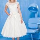 130x130 sq 1471317319892 dollycouture bridal vintage tea length wedding dre