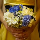 130x130 sq 1293863971601 bouquetbluewhitehydrangeamumsrosesgerberadaisies